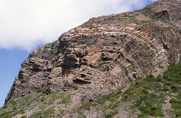 Folded Rock Strata in the andes, Argentina | Earth's Surface