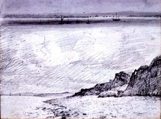 Sheerness; Coast scene near Southend, 1814