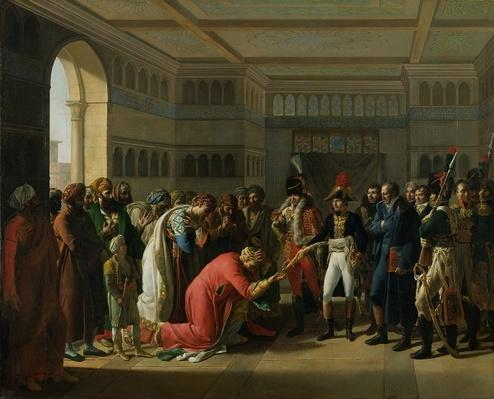 General Bonaparte Giving a Sword to the Military Chief of Alexandria, July 1798, 1808