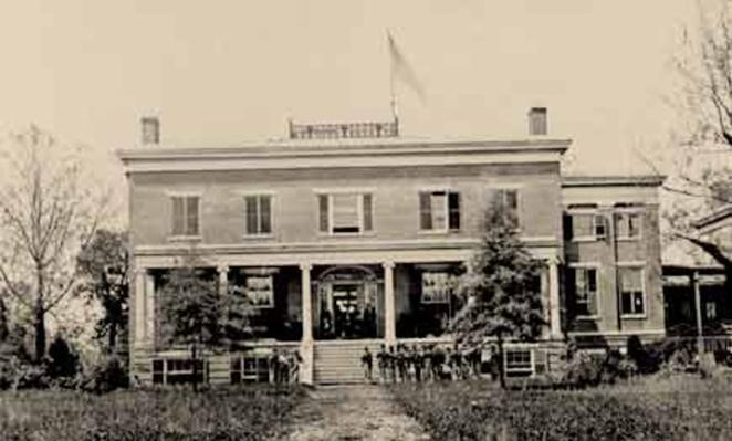 Headquarters of General G.L. Hartsuff | Ken Burns: The Civil War