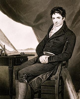 Robert Fulton (1765-1815) US inventor, work w/submarines & steamships | Industrial Revolution