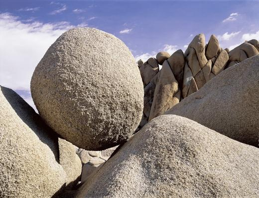 Boulder in Joshua Tree National Park | Earth's Surface