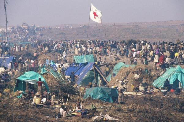 Camp for Rwandan refugees | Remembering the Rwandan Genocide