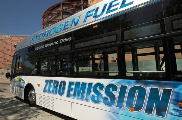 Hydrogen Fuel Cell Bus, Sunbus | Earth's Resources