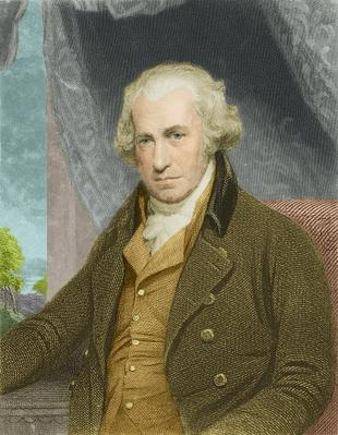 James Watt (1736 - 1819), Scottish inventor and engineer. | Industrial Revolution