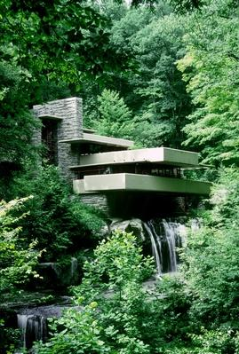 Fallingwater, in rural Pennsylvania | Famous American Architecture