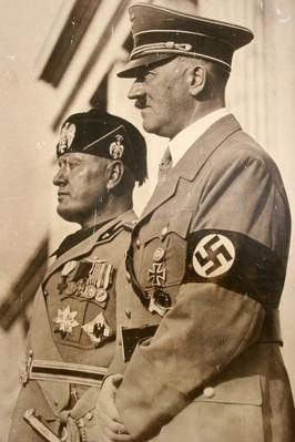 Hitler and Mussolini | World War II
