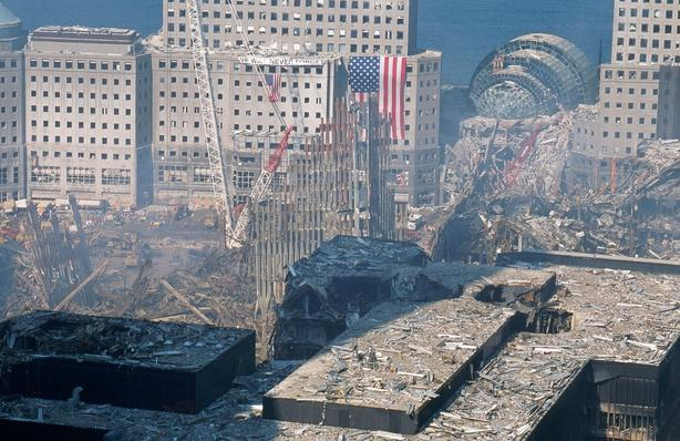World Trade Center disaster site, New York | 9/11: We Will Never Forget