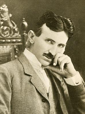 Nikola Tesla (1856-1943), a Serb-American physicist and engineer | Industrial Revolution