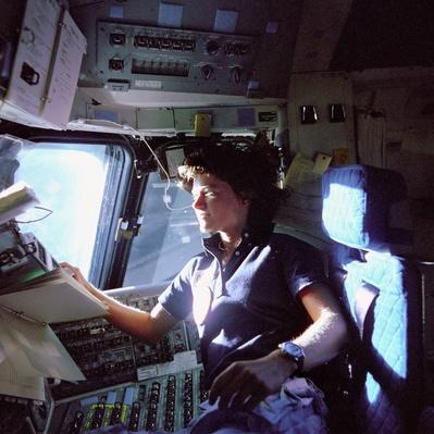 Astronaut Sally K. Ride, Mission Specialist on STS-7 | NASA Missions and Milestones in Space Flight