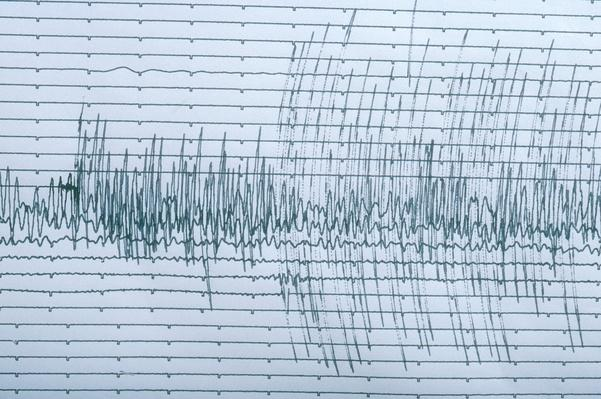 Seismograph Readings of the Loma Prieta earthquake, San Francisco, 1989 | Natural Disasters: Hurricanes, Tsunamis, Earthquakes