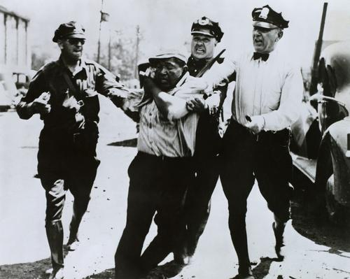 Police Assault a Striker | Civility & Brutality | The 20th Century Since 1945: Civil Rights & the New Millennium