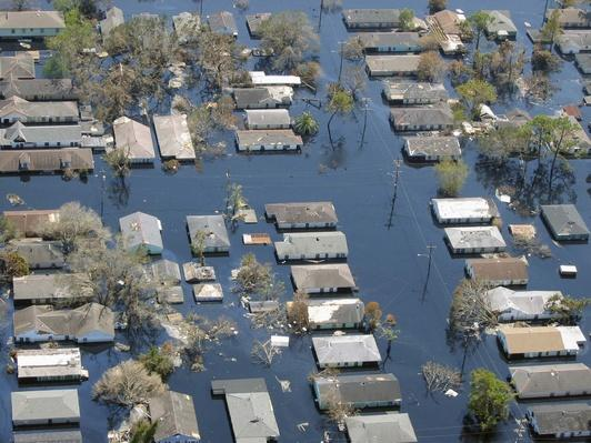 Hurricane Katrina damage | Natural Disasters: Hurricanes, Tsunamis, Earthquakes