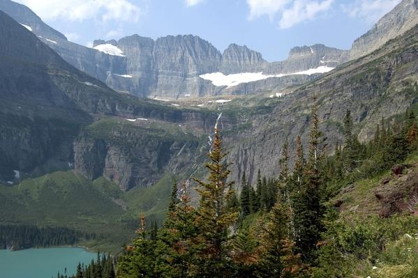 The Continental Divide as Seen From a Trail in Glacier National Park | Earth's Surface