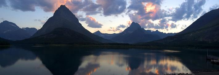Swiftcurrent Lake at Sunset, Glacier National Park | Earth's Surface
