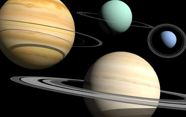 Four planets in our solar system have ring systems | Earth and Space
