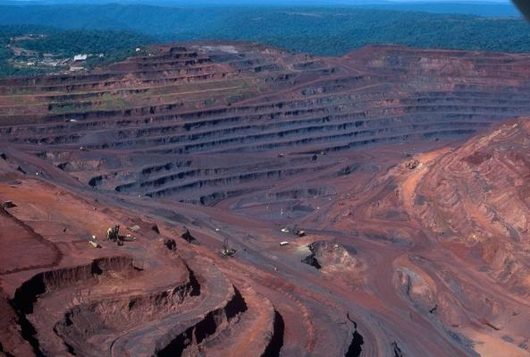 Carajas Iron Mine in the Amazon Rainforest, Para, Brazil   Earth's Resources