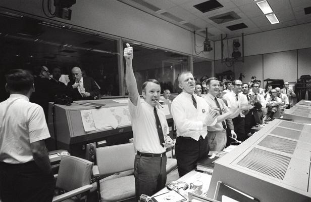 Three of the Four Apollo 13 Flight Directors | NASA Missions and Milestones in Space Flight