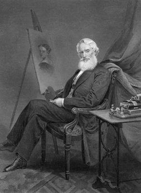 Portrait of the American inventor and painter Samuel Morse (1791-1872) | Industrial Revolution