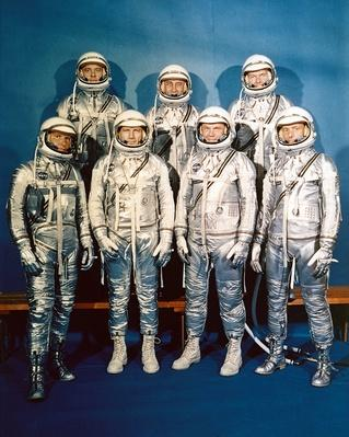Project Mercury Astronauts | The Cold War | The 20th Century Since 1945: Postwar Politics