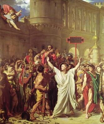 The Martyrdom of St. Symphorien, 1834