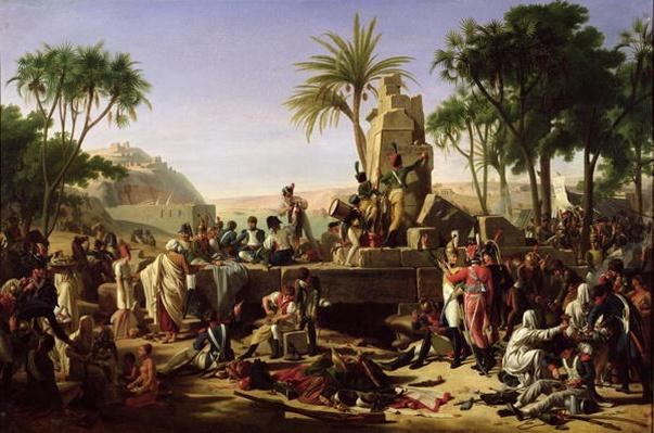 Troops halted on the Banks of the Nile, 2nd February 1799, 1812