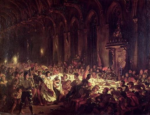 The Assassination of the Bishop of Liege, 1829