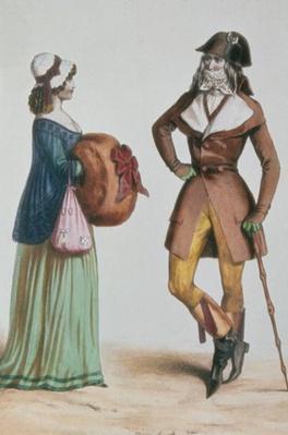 `Incroyable et Merveilleuse', c.1775