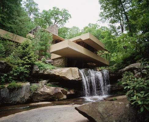 Fallingwater House (Kaufmann House) | Famous American Architecture