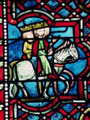 The Three Magi on Horseback, 13th century