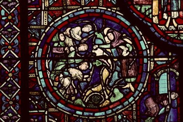 Vintners pruning the vines, 13th century