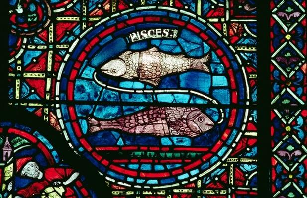 Pisces, from the zodiac window