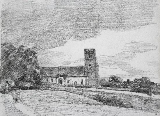 Feering Church, 1814