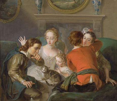 The Sense of Touch, c.1744-47