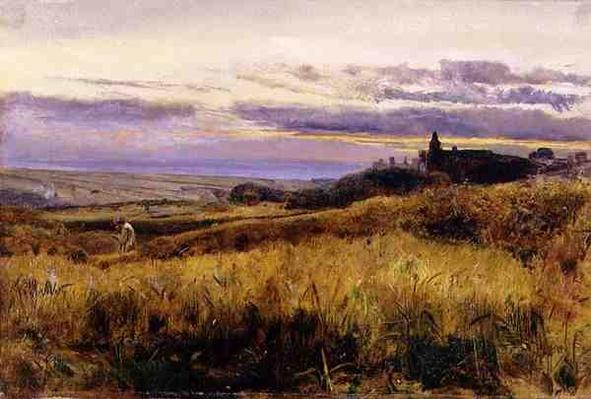 Cornfield at Sunset, 1860