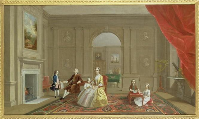The John Bacon Family, c.1742-43
