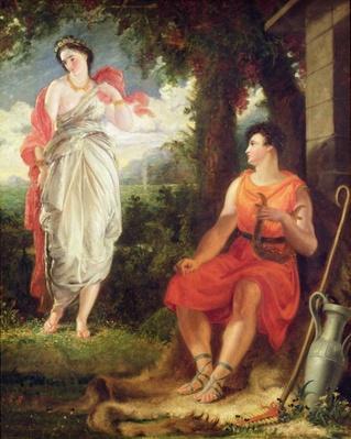 Venus and Anchises, 1826