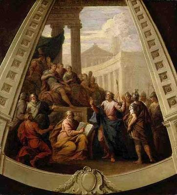 St. Paul Before Agrippa, c.1710