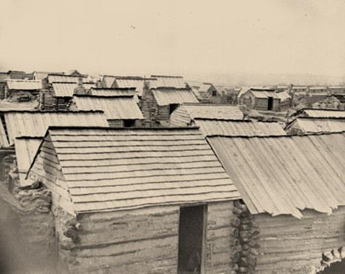 Confederate Winter Quarters, Centreville, VA | Ken Burns: The Civil War