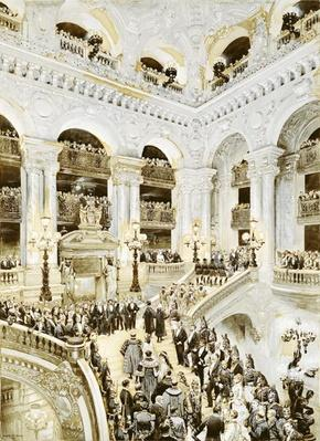 Inauguration of the Paris Opera House, 5th January 1875, 1878