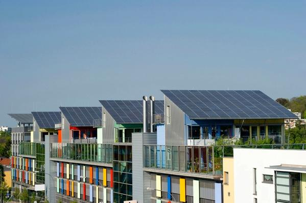Houses With Solar Architecture, Germany | Earth's Resources