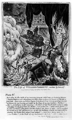 Plate 8, from 'The Life of William Cobbett', written by himself, pub. by H. Humphrey, 1809