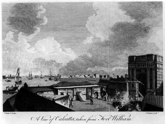 A View of Calcutta taken from Fort William, engraved by J. Eastgate