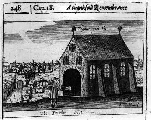 A Thankful Remembrance of the Powder Plot, 5th November 1605
