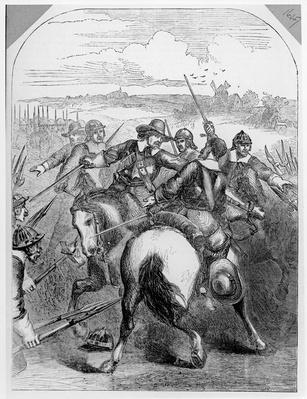 Cromwell Suppressing the Mutiny