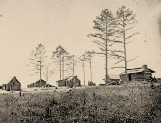 Confederate Winter Quarters, Manassas, VA | Ken Burns: The Civil War