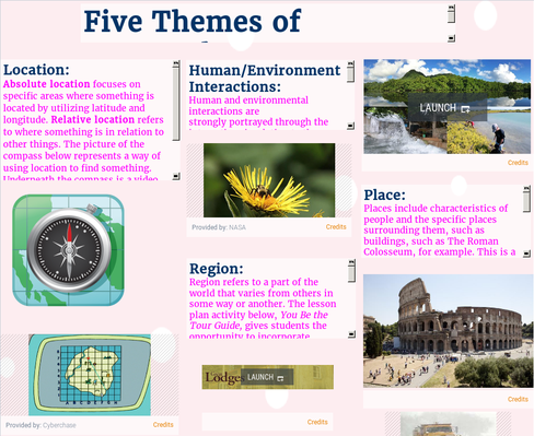SST 309-Section 04-Five Themes of Geography