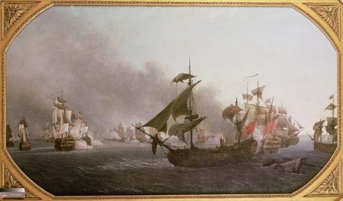 Naval Combat off the Isle of Grenada, 6th July 1779, 1788