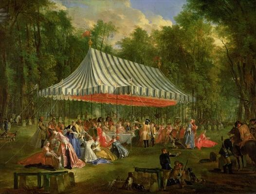 Festival Given by the Prince of Conti to the Prince of Brunswick-Lunebourg at l'Isle-Adam, 1766