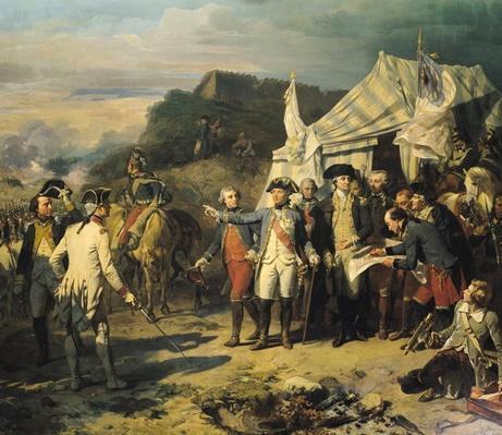 Siege of Yorktown, 17th October 1781, 1836